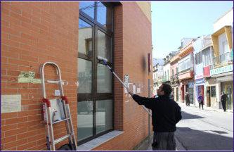 limpieza de cristales en sevilla